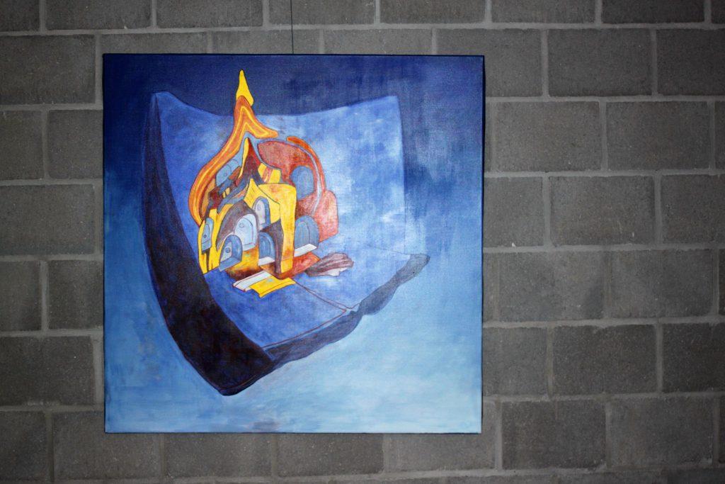 Schilderij Shambalah